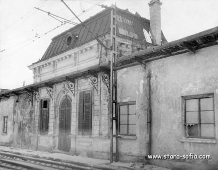 Снимка гара Казичене 70 години на 20 век