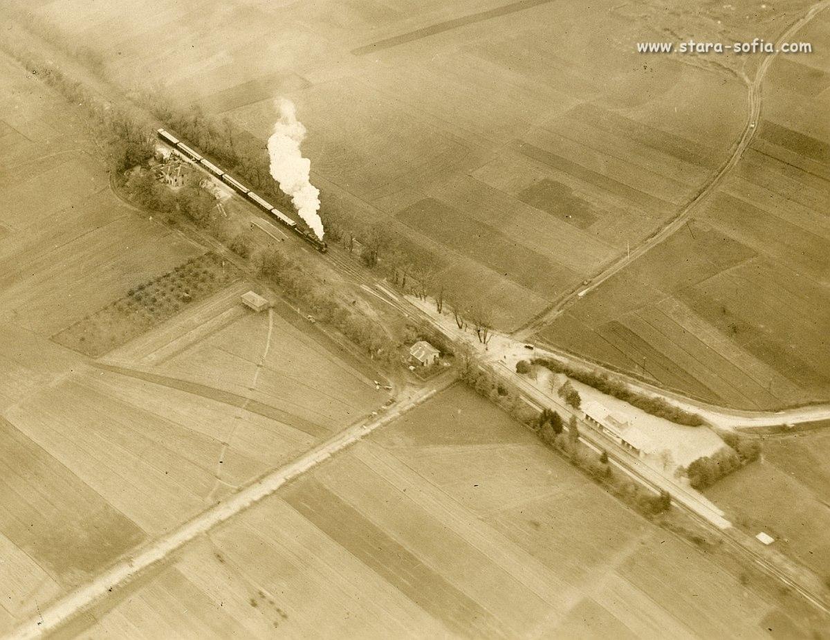 Снимка от въздуха гара Казичене - блог стара София